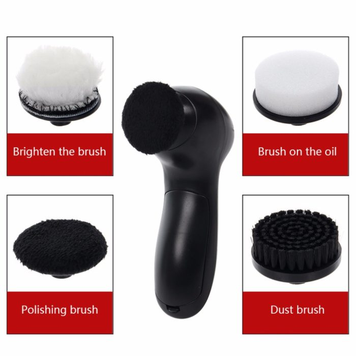 Handheld Electric Shoe Polisher Brush