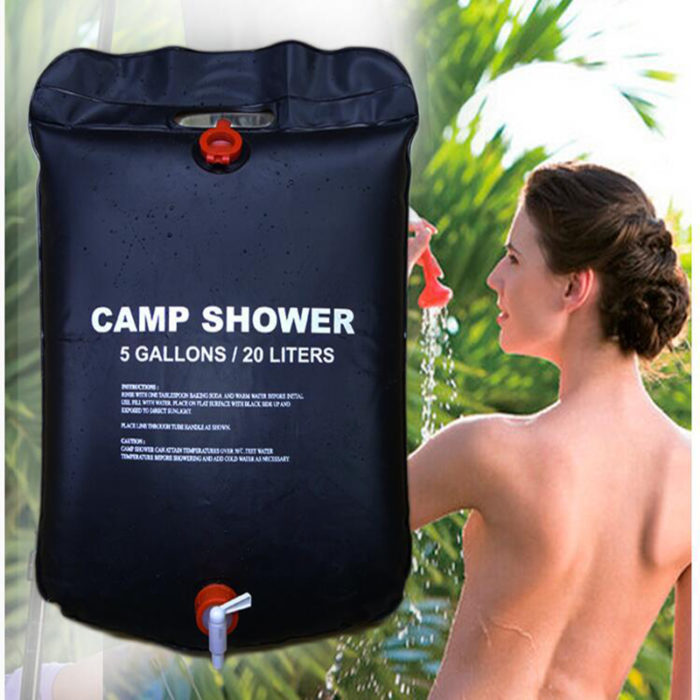 Outdoor Camping Shower Bag Water Storage