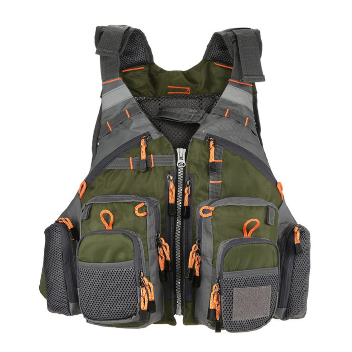 Fishing Vest Outdoor Utility Jacket