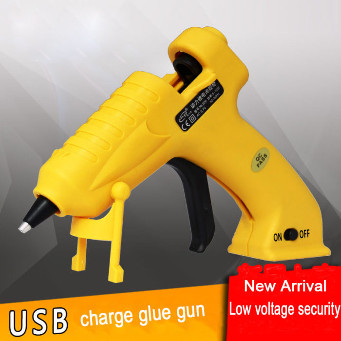 Rechargeable Hot Glue Gun Wireless Tool