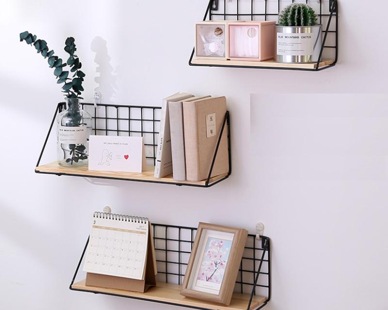 Diy Wall Rack Organizer Shelf Storage