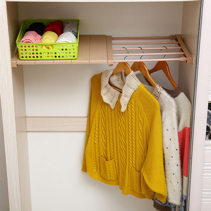 Adjustable Closet Racks Divider Shelf