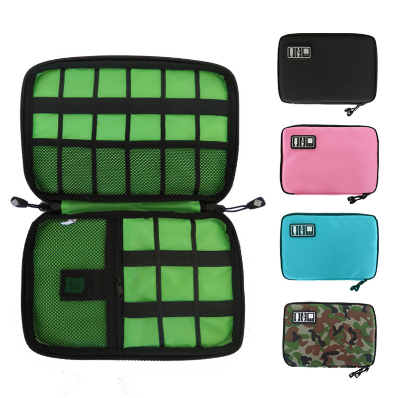 Travel Cord Organizer Cable Pouch