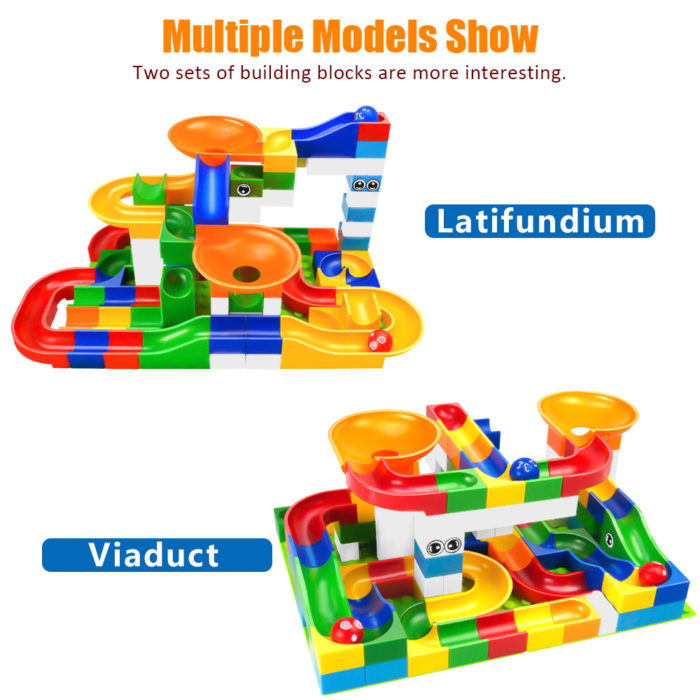 Race Track Toy Building Maze Blocks -