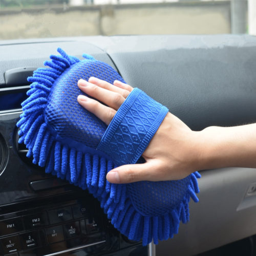 Microfiber Car Cleaning Brush Sponge