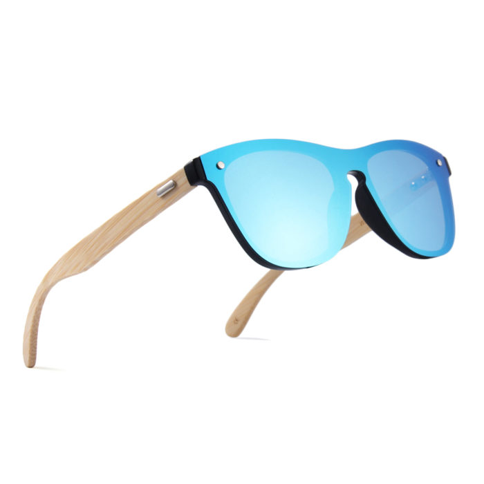 Bamboo Wooden Sunglasses Fashion Lens