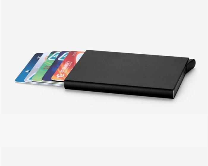 Aluminum Credit Card Holder Wallet