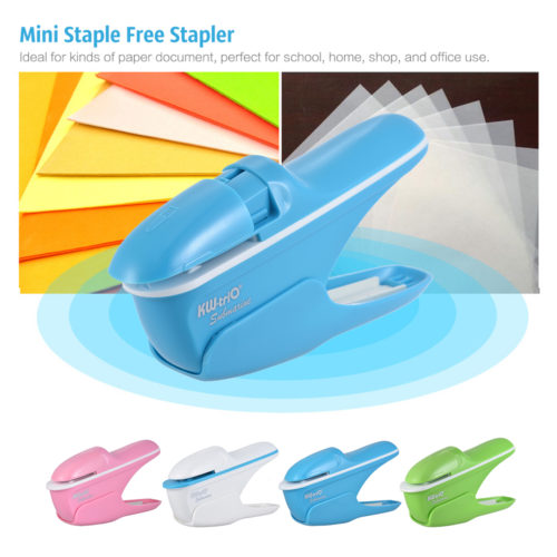 Mini Stapleless Stapler Paper Binder