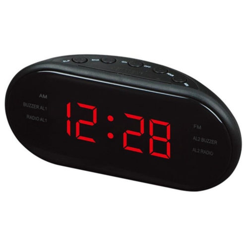 Digital Radio Alarm Clock Table Clock