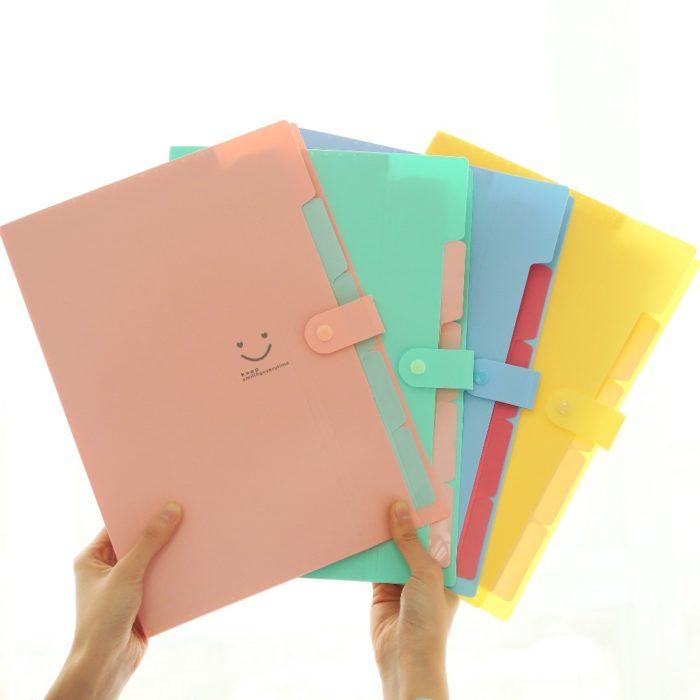 Plastic File Folder Waterproof Envelope