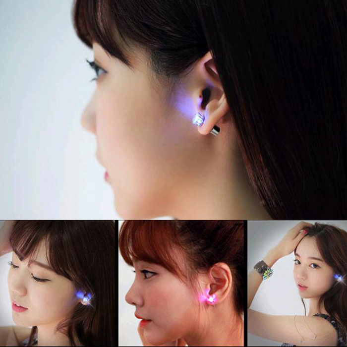 LED Earrings Light Up Ear Accessories