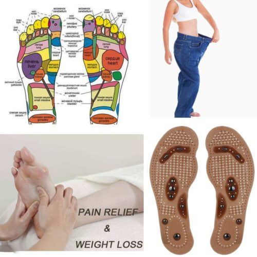 Magnetic Foot Pads Slimming Cushion