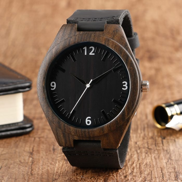 Eco-friendly Analog Wooden Watch