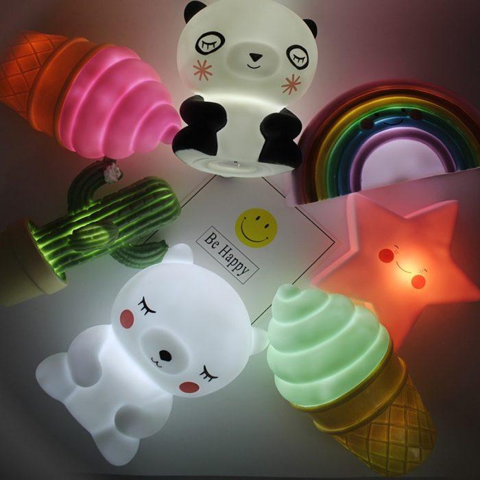 Nursery Lamp Kids Night Light
