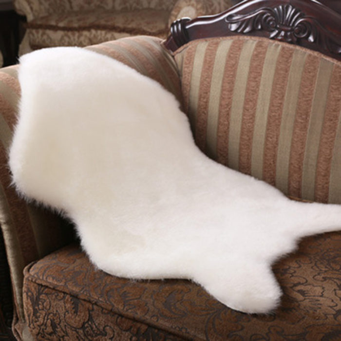 Sheepskin Rug Fluffy Fur Carpet