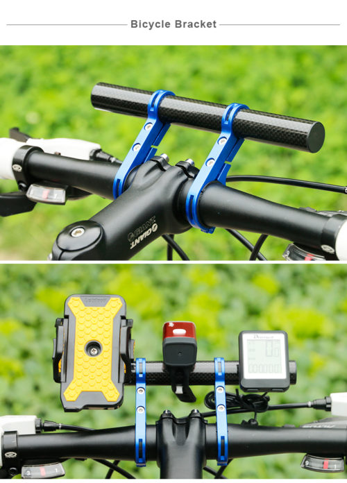 Bike Handlebars Mount Bracket Holder