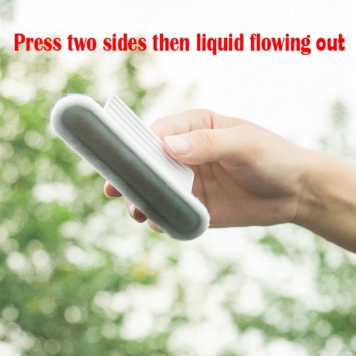 Self-absorbing Glass Window Wiper Cleaning Tool