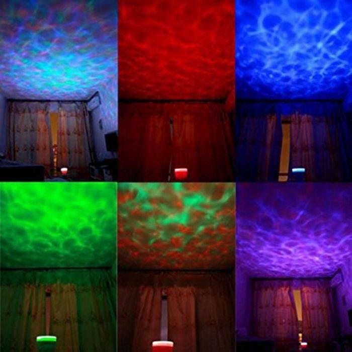 LED Ocean Wave Projector Speaker