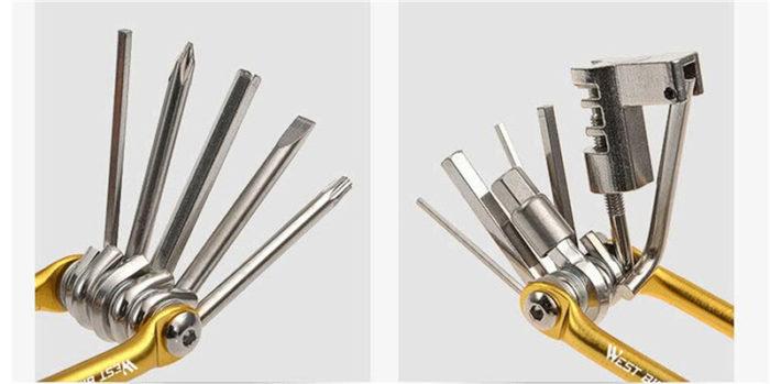 11in1 Bike Tools Portable Repair Kit