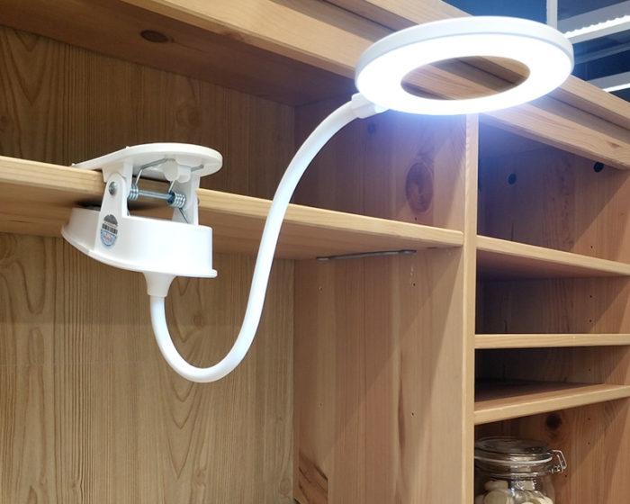 Clip-On Light LED Reading Lamp