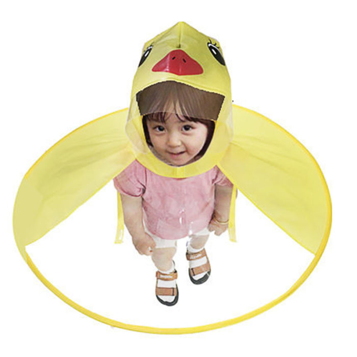 Kids Raincoat Waterproof PVC Cover -