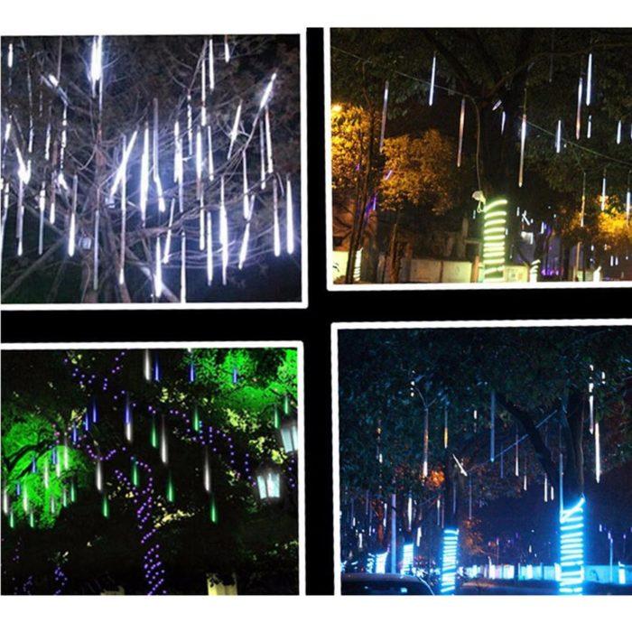Snowfall LED Lights Shower Rain