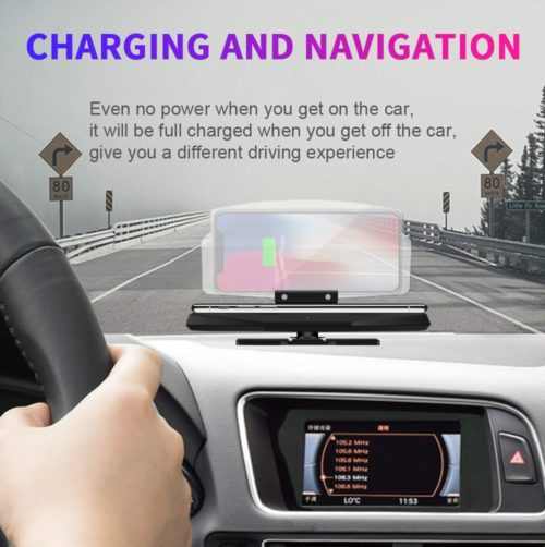 Wireless Car Charger Phone Dock