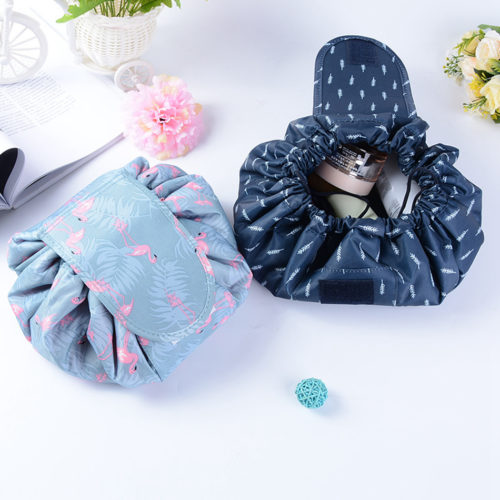 Travel Makeup Bag Drawstring Pouch