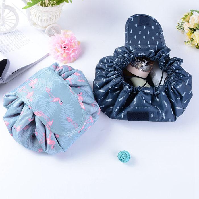 Travel Makeup Bag Drawstring Pouch