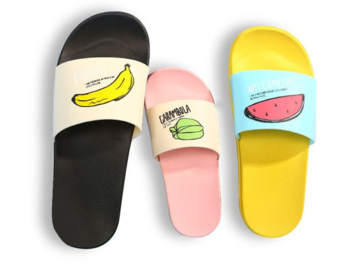 Women Slide Slippers Cute Slip-on