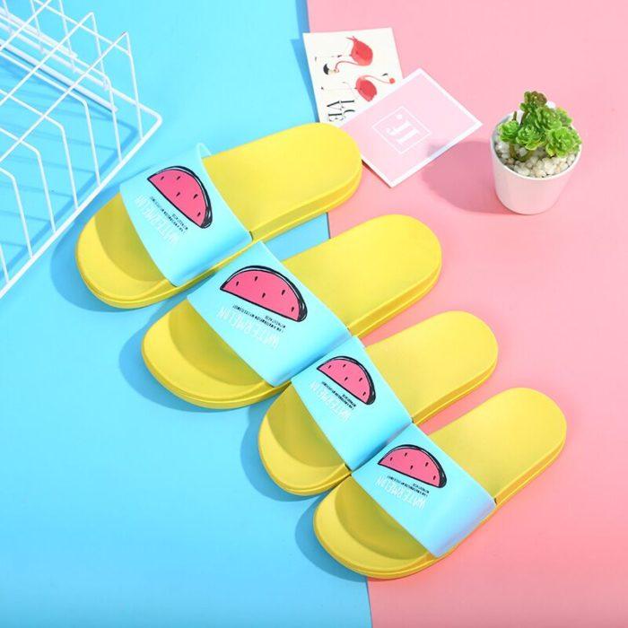 Women Slide Slippers Cute Slip-on