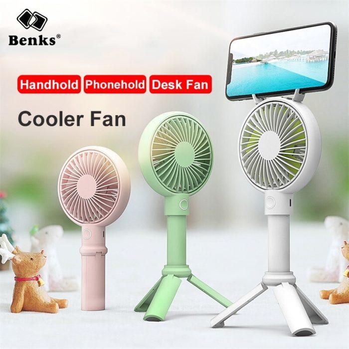 Portable USB Rechargeable Fan