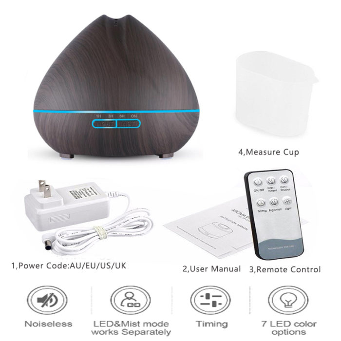Air Diffuser Aromatherapy Purifier