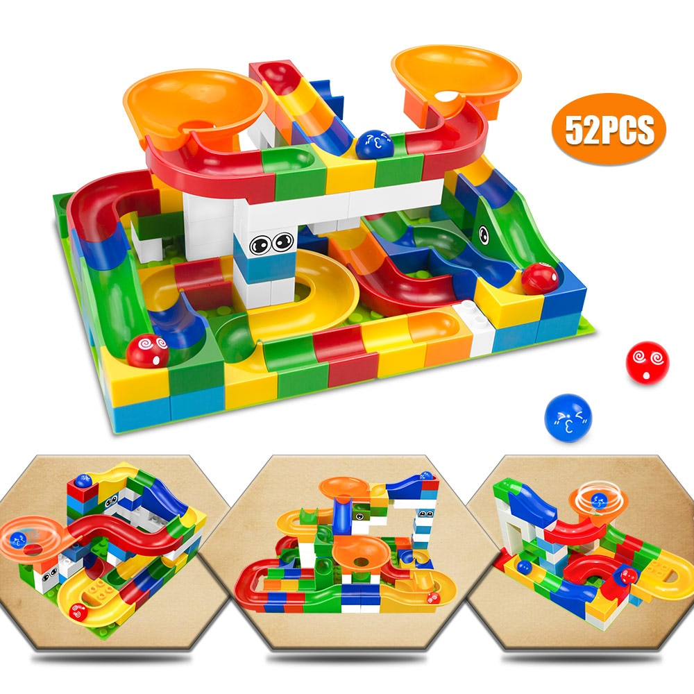 Educational Construction Marble Games Toy
