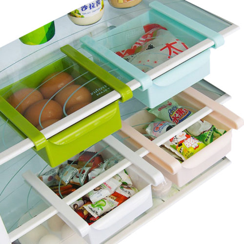 Kitchen Fridge Storage Rack