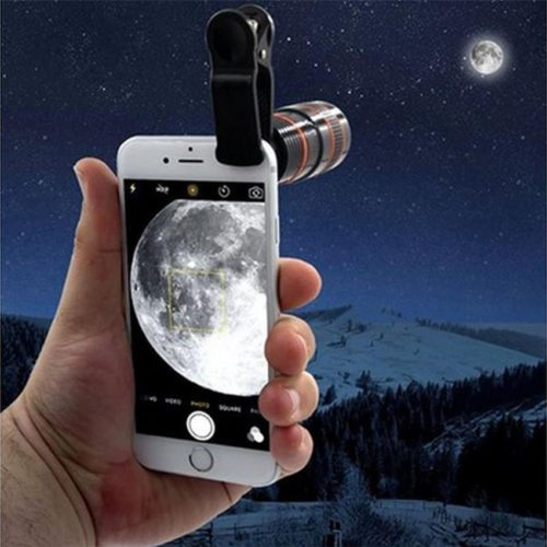 HD 360 Zoom Mobile Camera Lens