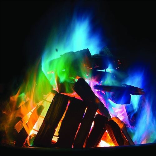Bonfire Fire Colors Fireplace Flame Trick