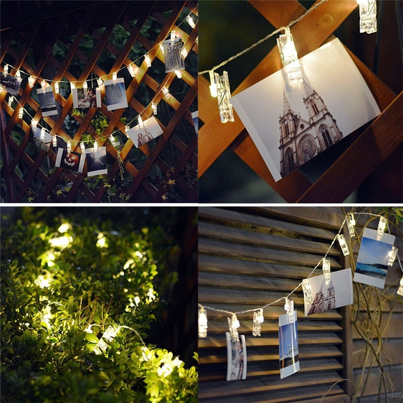 Twinkle Lights Photo Clip Led String Life Changing Products