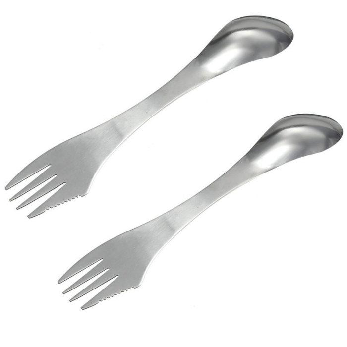 Portable Spork Camping Cutlery Tool