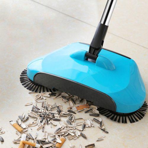 Hand Push Magic Broom and Dustpan