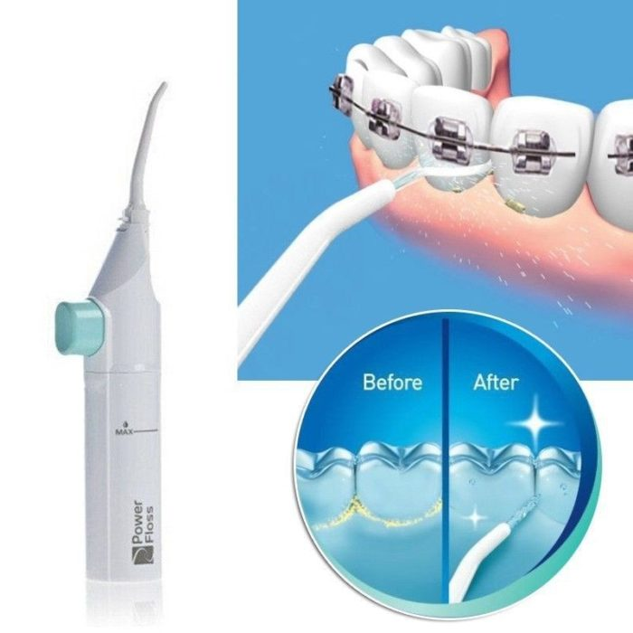 Portable Mouth Denture Cleaner