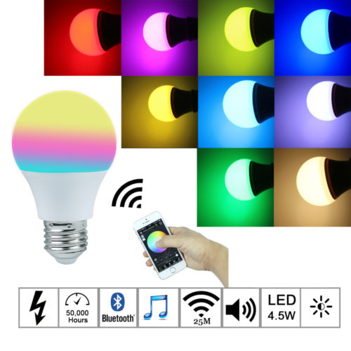 Color Changing Smart Light Bulbs