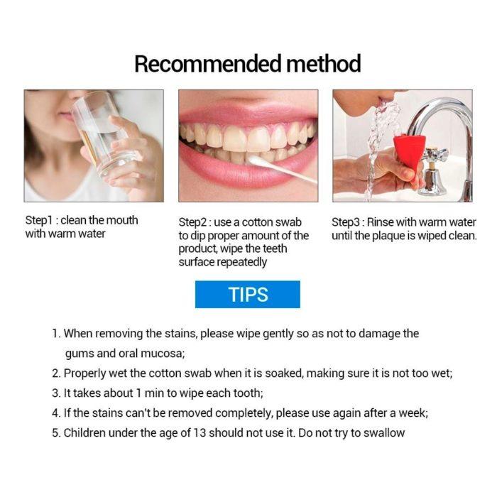 Teeth Bleaching Cleaning Serum