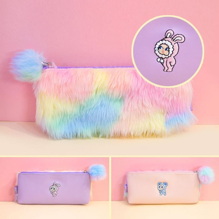 Rainbow Cute Pencil Pouch