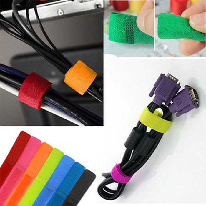10 Pieces Cable Management Holder