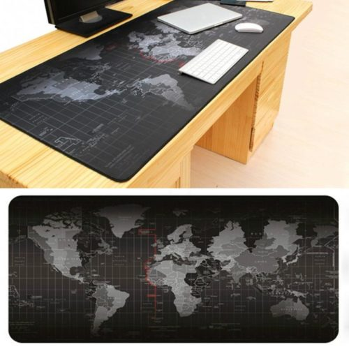 World Map Photo Mouse Pad