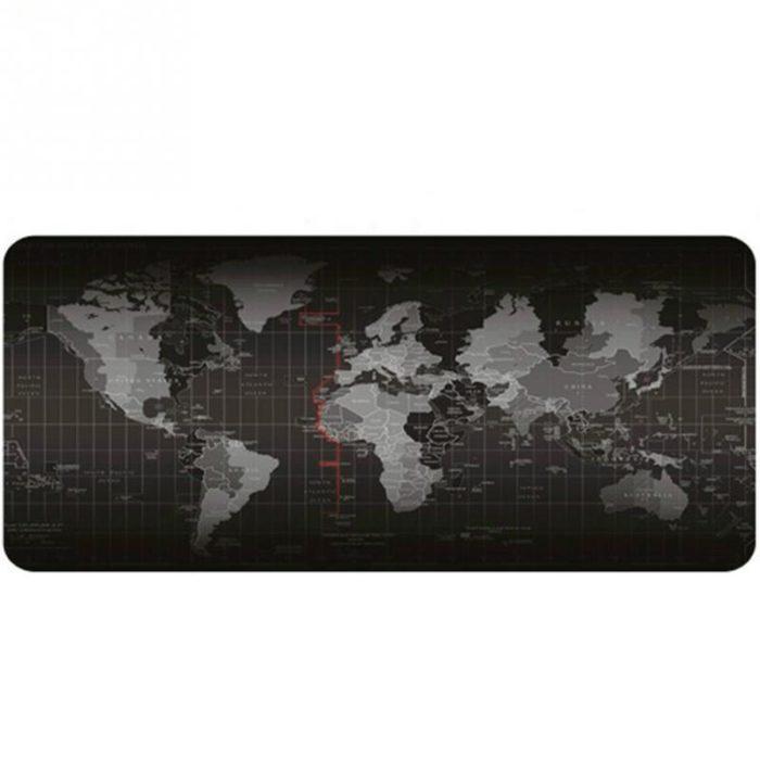 World Map Photo Mouse Pad