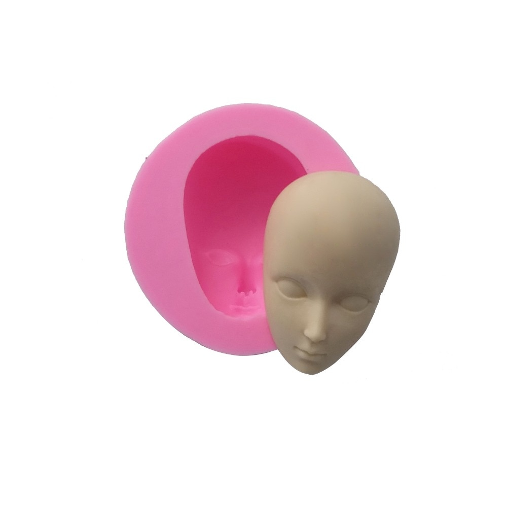 Image result for Baby Head Shape Silicone Mold