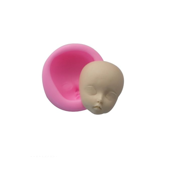 Baby Head Shape Silicone Mold