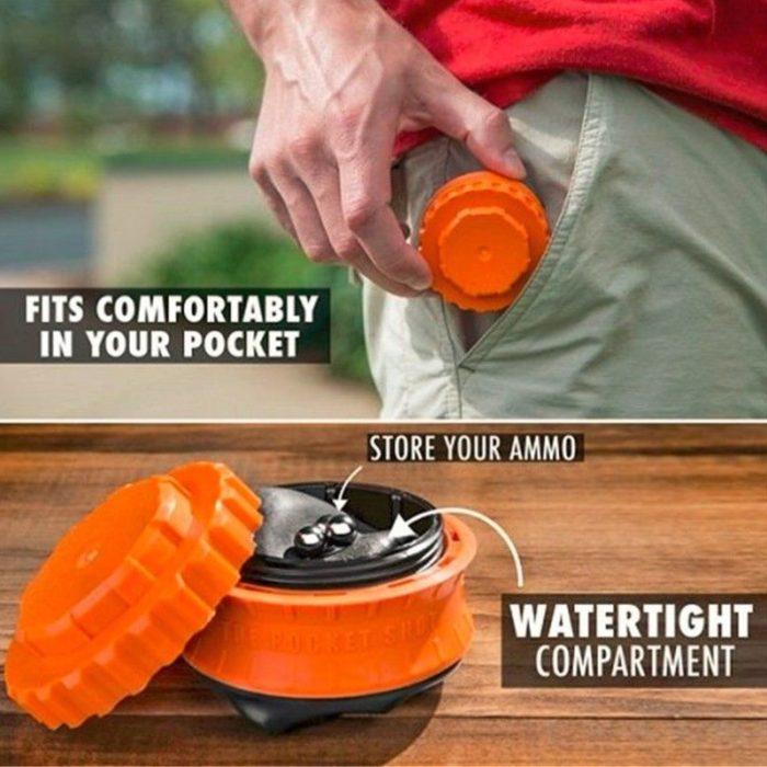 Outdoor Handheld Pocket Slingshot